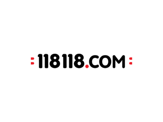 118 118 Beauty Discount Code, Vouchers :