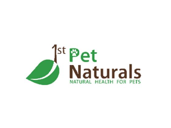 1st Pet Naturals Voucher code and Promos - 2017