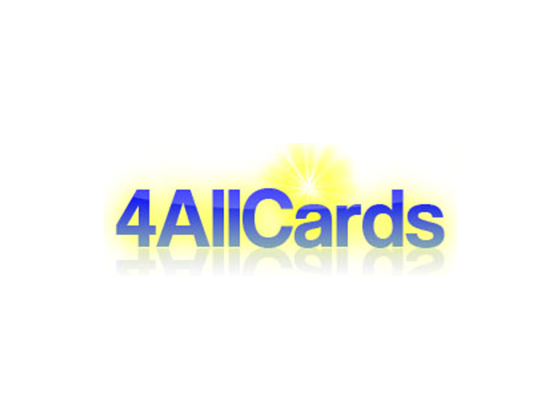 4 All Cards Discount Code, Vouchers :