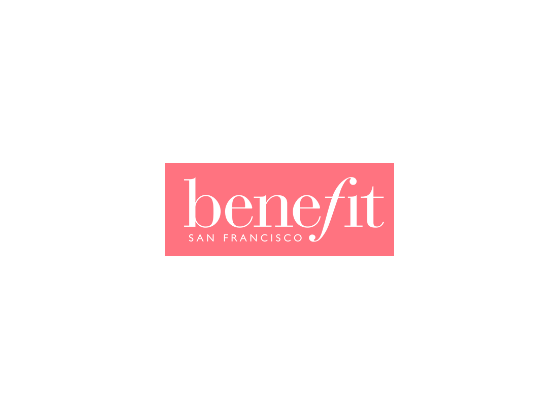 View Benefit Cosmetics Vouchers andPromo Code - 2017