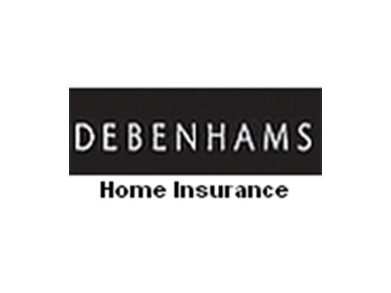 Debenhams Home Insurance Discount & Voucher Codes -