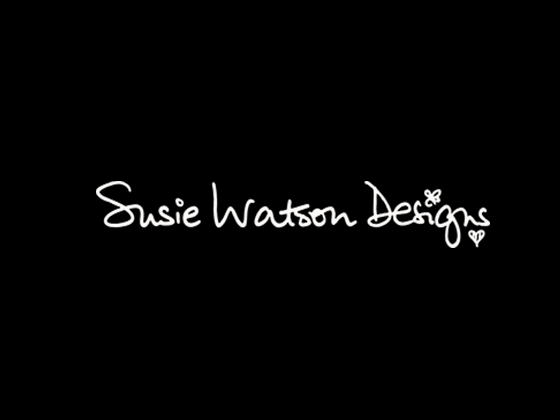 Susie Watson Designs Voucher Code and Offers 2017