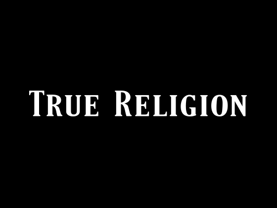 View True Religion Promo Code and Vouchers 2017