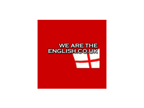 Get We Are The English Voucher and Promo Codes