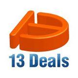 13Deals Coupon Code & Deals 2018
