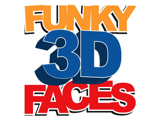 Funky 3D Faces Voucher Code and Deals
