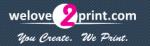 welove2print.com Discount Codes & Vouchers November