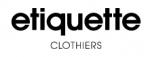 Etiquette Clothiers Discount Codes