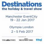 Destinations Show Discount Codes