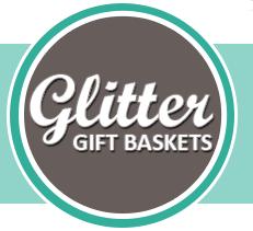 Glitter Gift Baskets